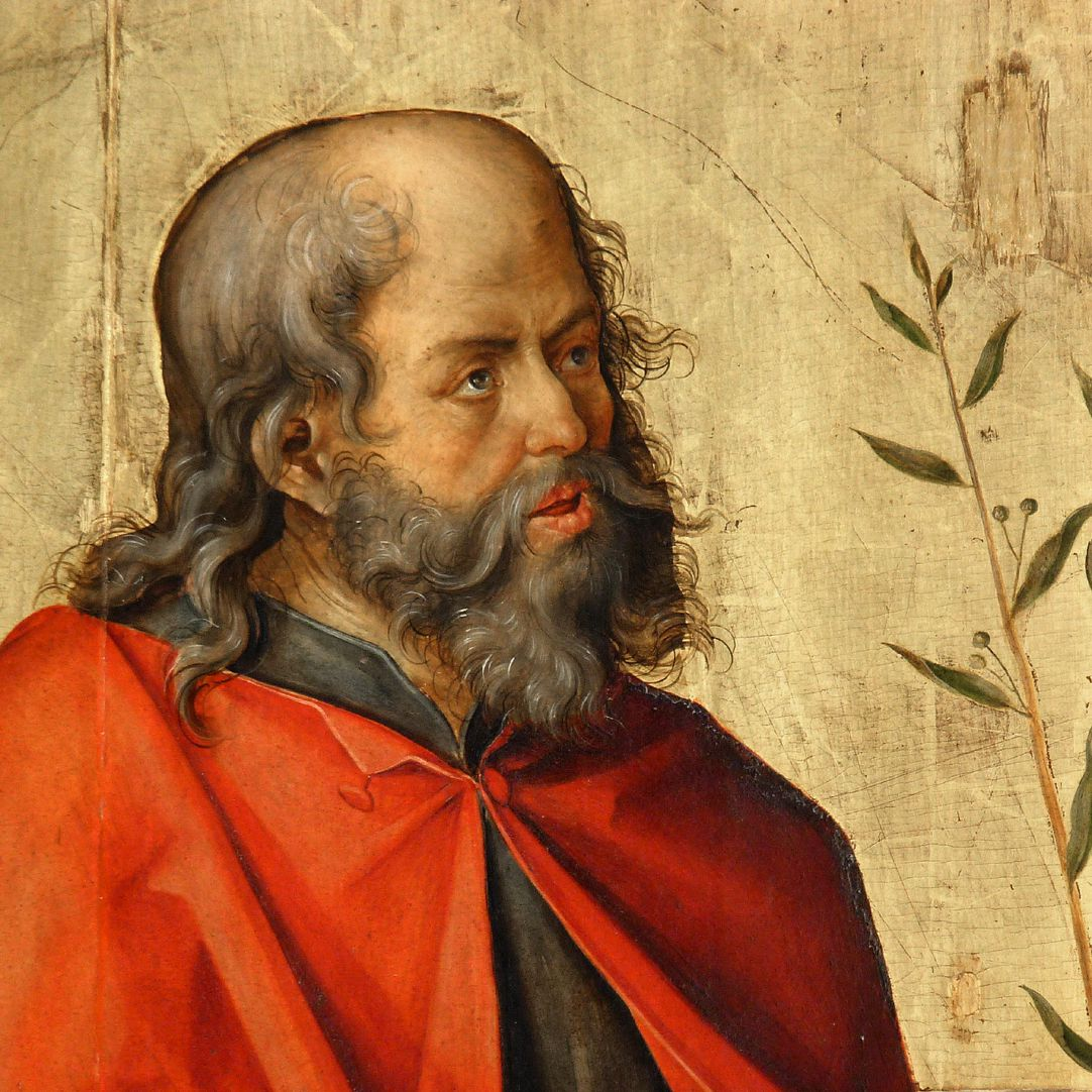 Annenaltar linker Schreinflügel, Joseph, Detailansicht