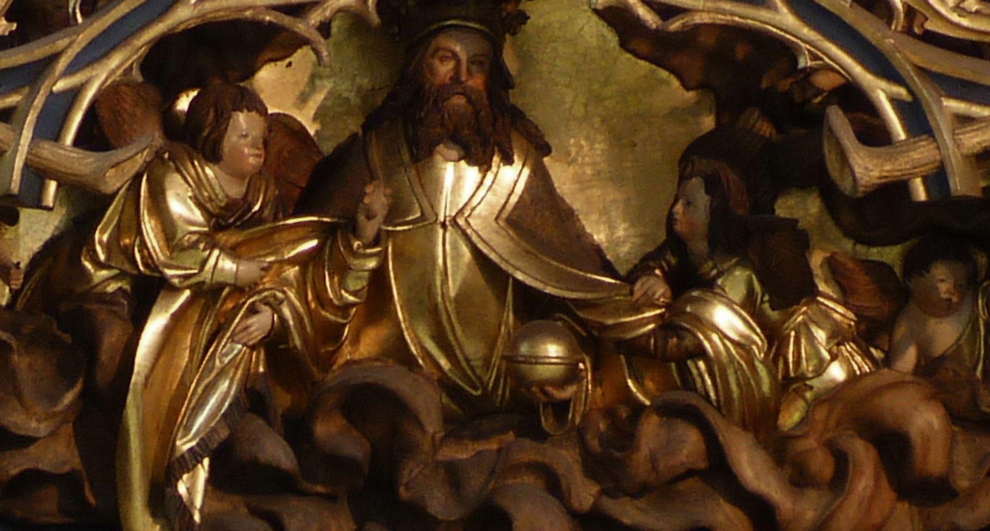Annenaltar Gottvater und Engel