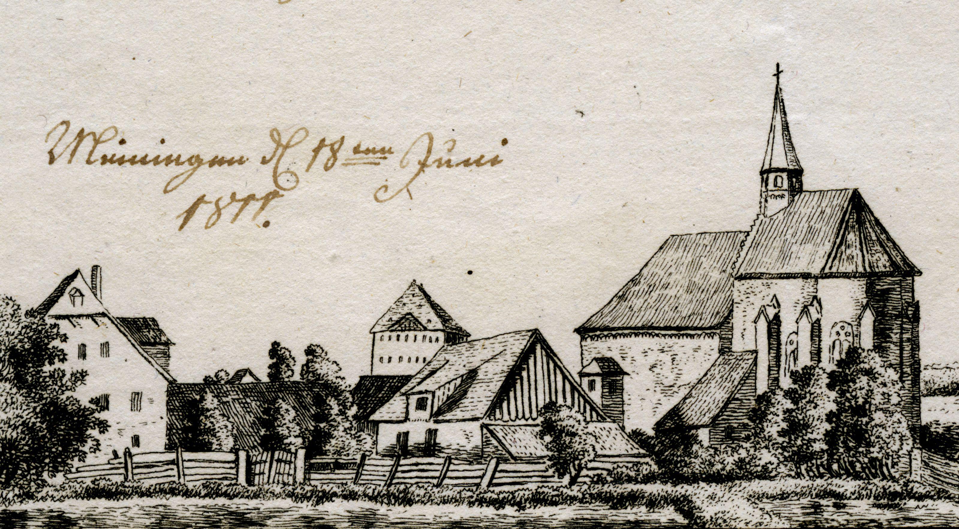 Ansicht des Peters Detailansicht mit Peterskapelle