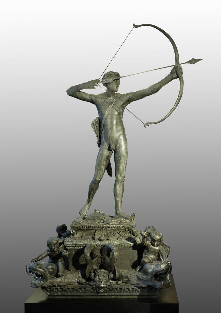 Apollobrunnen Gesamtansicht, frontal