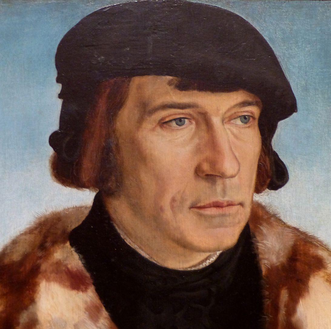 Portrait des Ruprecht Stüpf (Madrid) Kopf