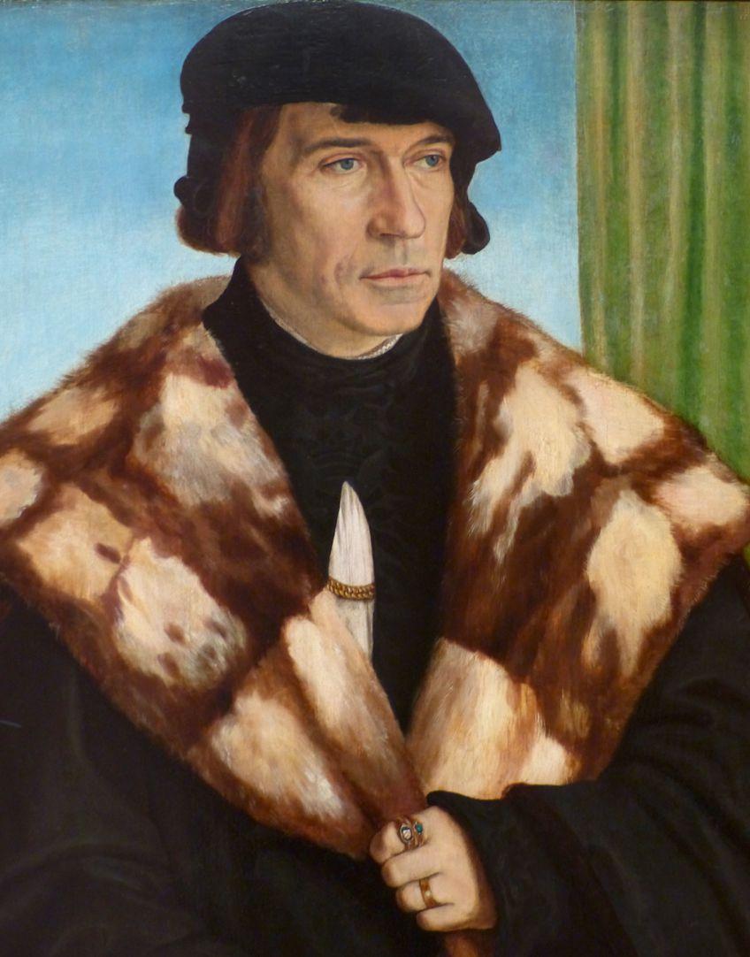 Portrait des Ruprecht Stüpf (Madrid) Detailansicht