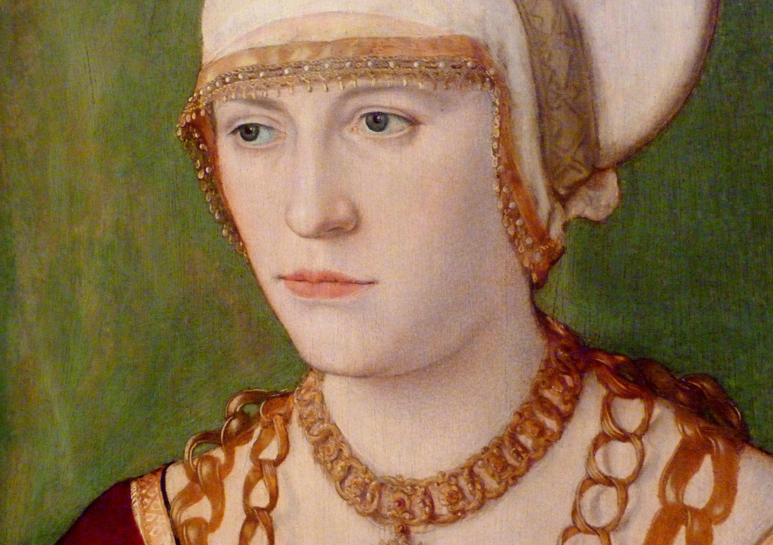 Portrait der Ursula Rudolph (Madrid) Kopf