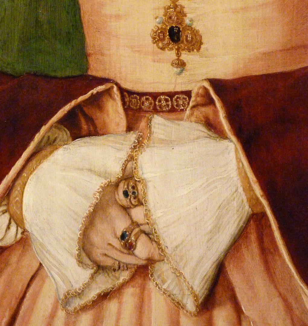 Portrait der Ursula Rudolph (Madrid) Detail