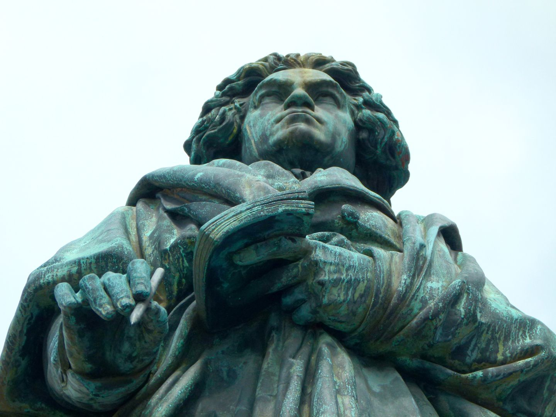 Beethoven-Denkmal (Bonn) Untersicht