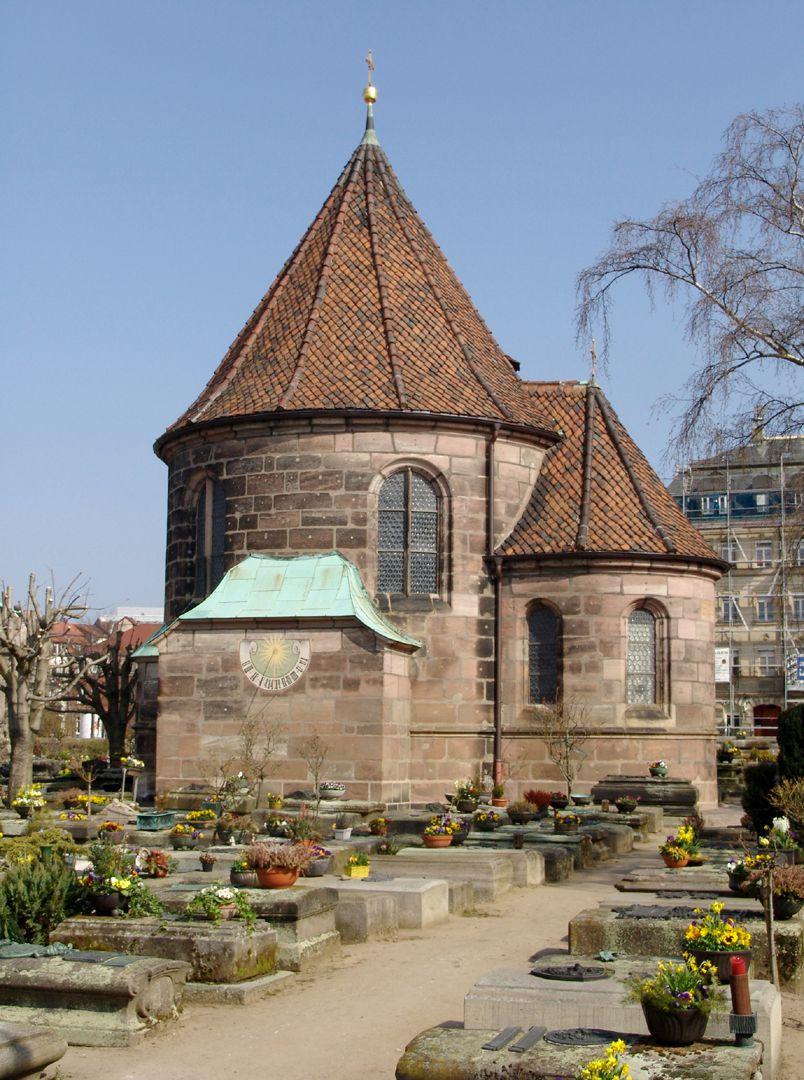 Holzschuher Kapelle Gesamtansicht von S/SO