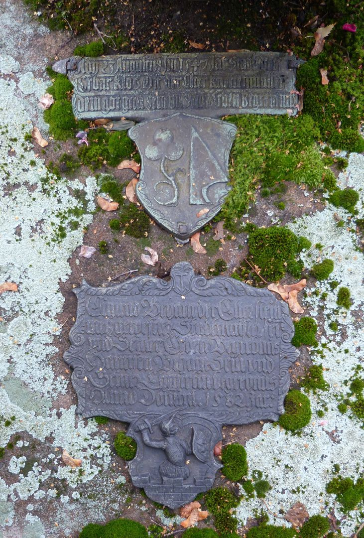 Behaim, Hans d.Ä.: Epitaph Epitaph Behaims aus dem Jahre 1582