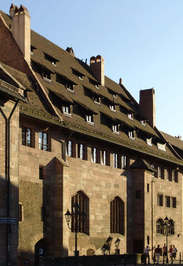 Heilig-Geist-Spital Nordfassade