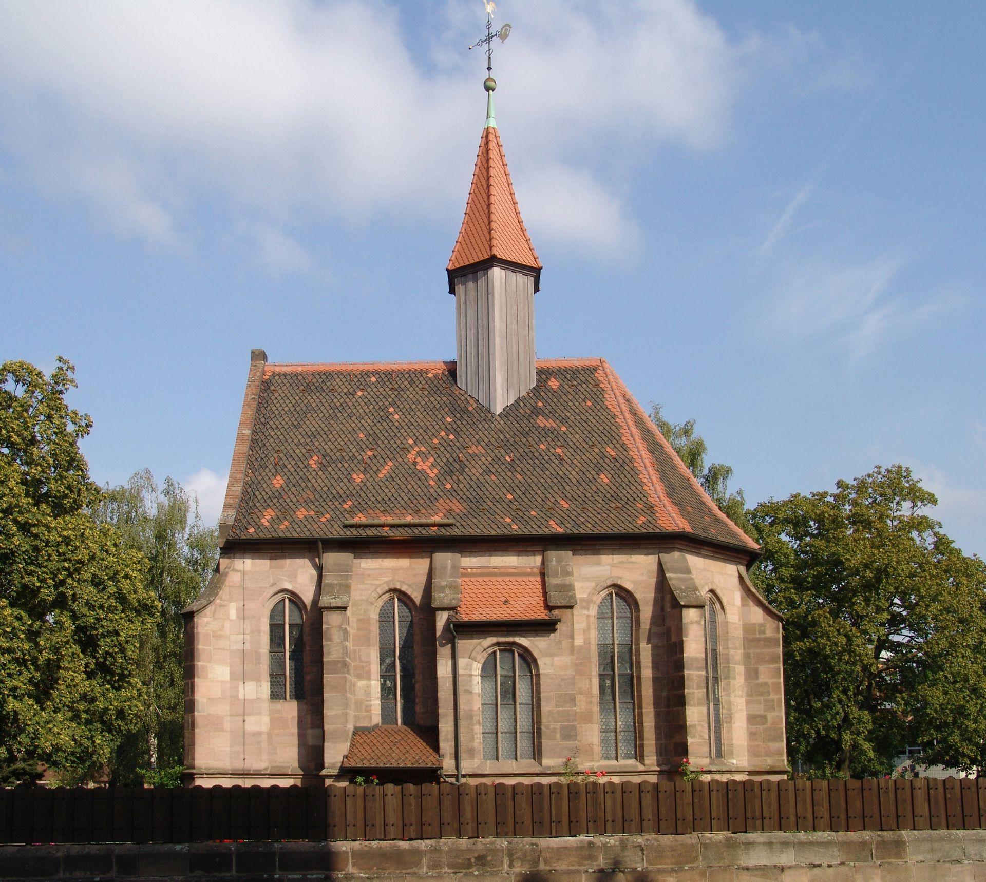 Rochuskapelle Südseite