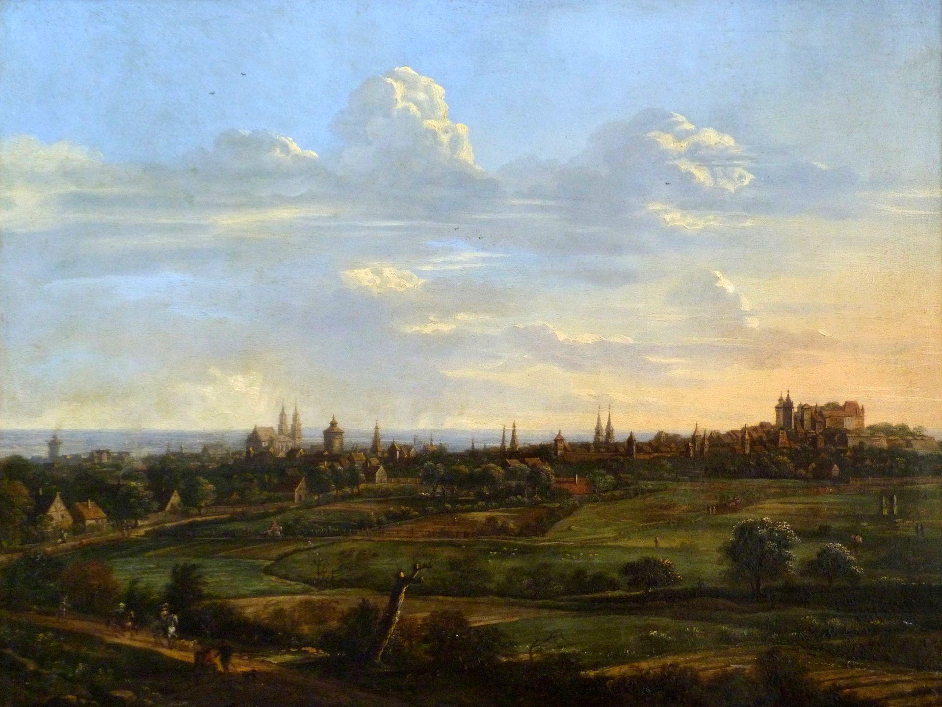 Blick auf die Stadt von Nordosten Gesamtansicht