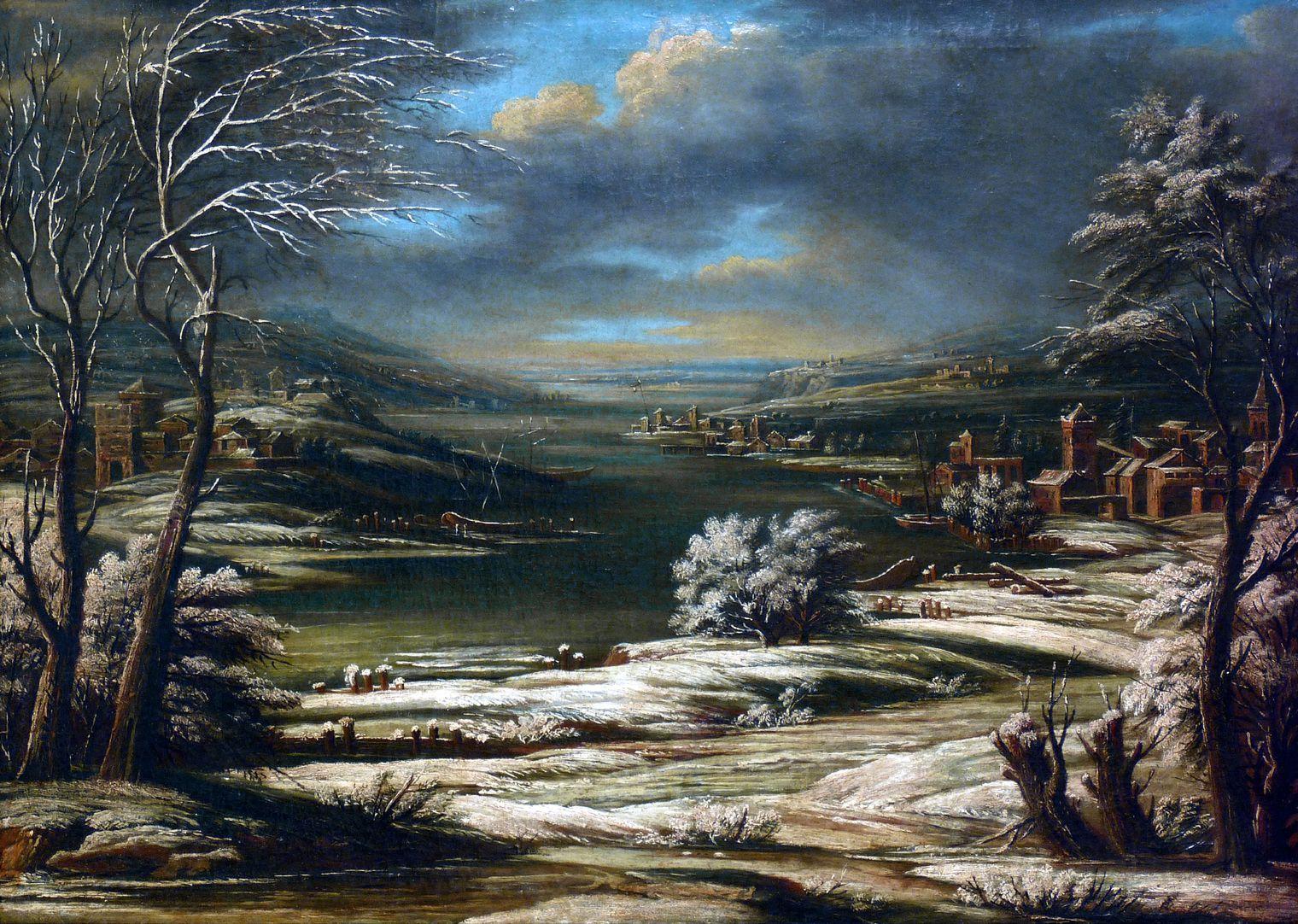 Winterlandschaft Gesamtansicht