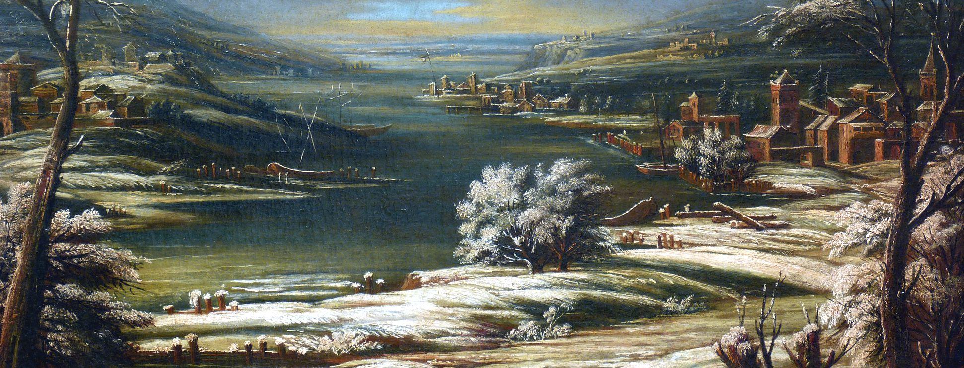 Winterlandschaft Mittlerer Bildstreifen