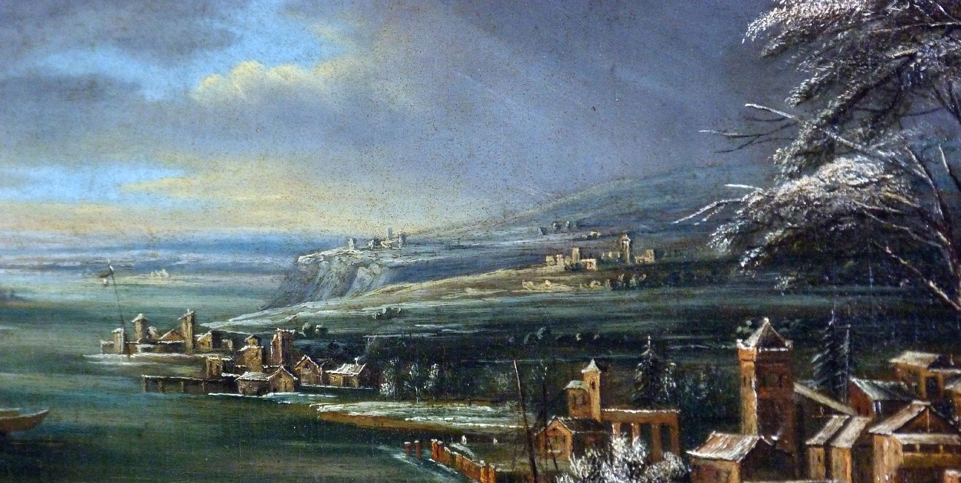 Winterlandschaft Detail