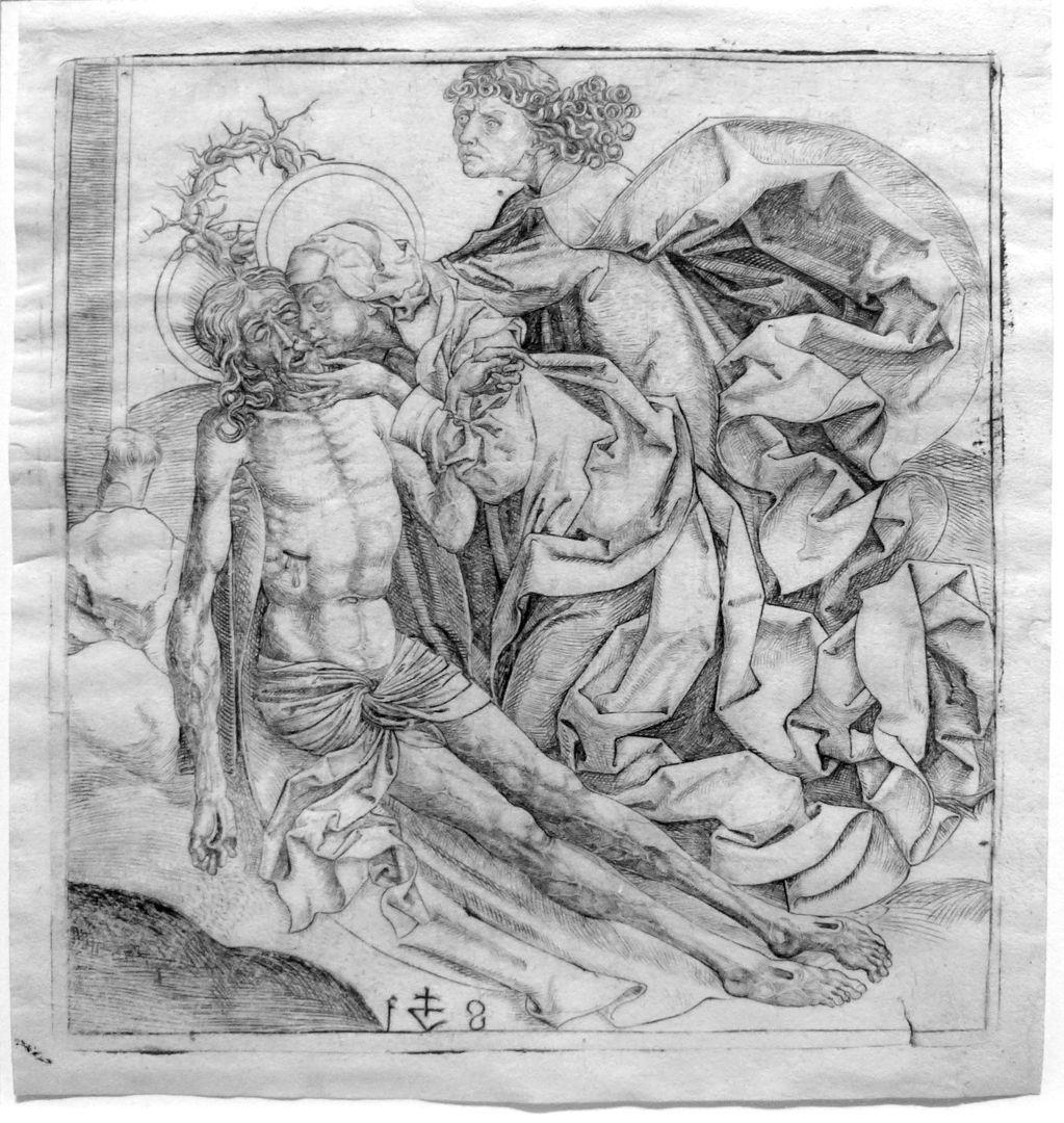 Beweinung Christi Maria und Johannes mit dem toten Christus