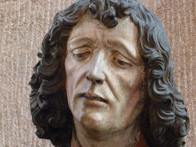 Große Pietà Johannes, Kopf