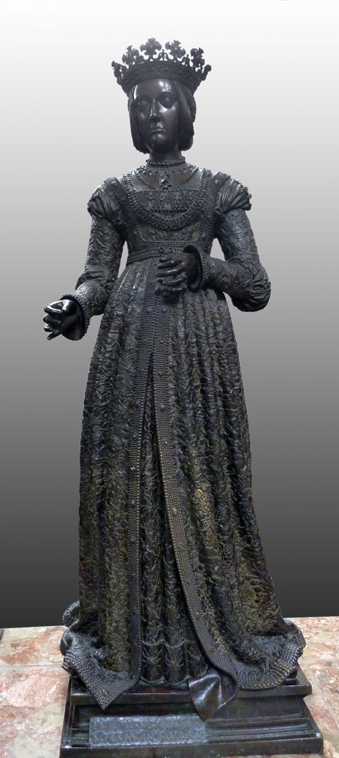 Kaiserin Bianca Maria Sforza (Innsbruck) Frontalansicht
