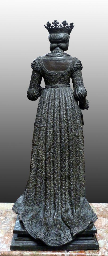 Kaiserin Bianca Maria Sforza (Innsbruck) Rückansicht
