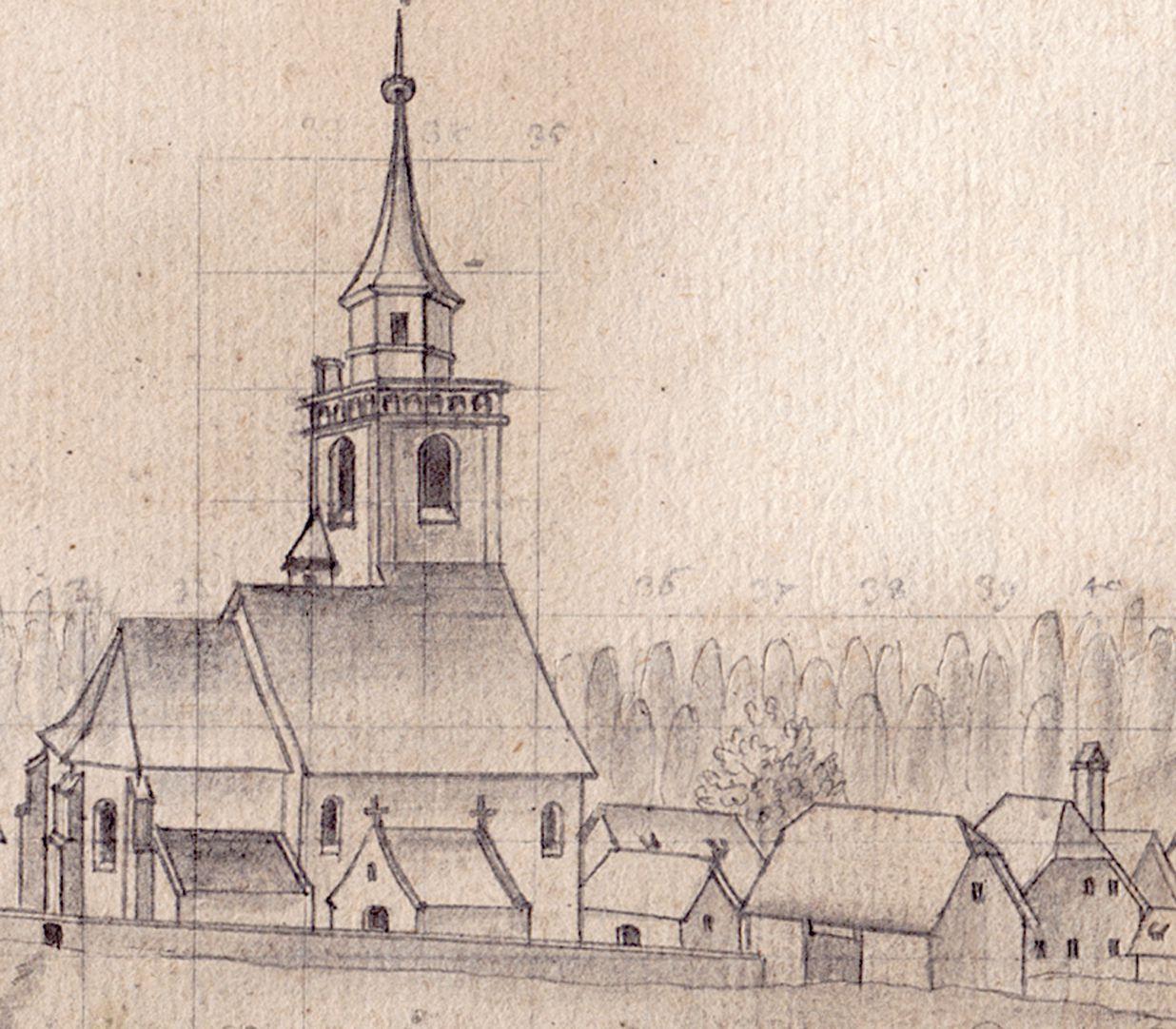 Blick auf Fürth St. Michael