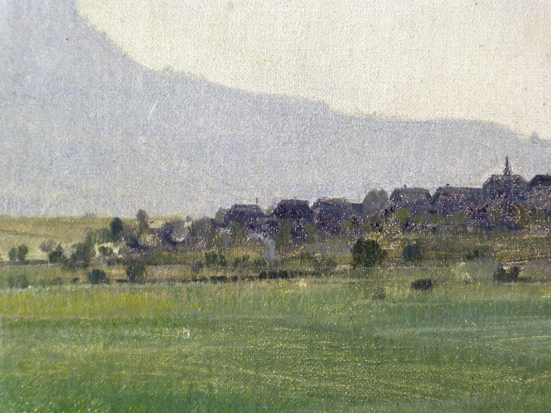 Blick auf das Walberla Detailansicht, linkes mittleres Bildfeld