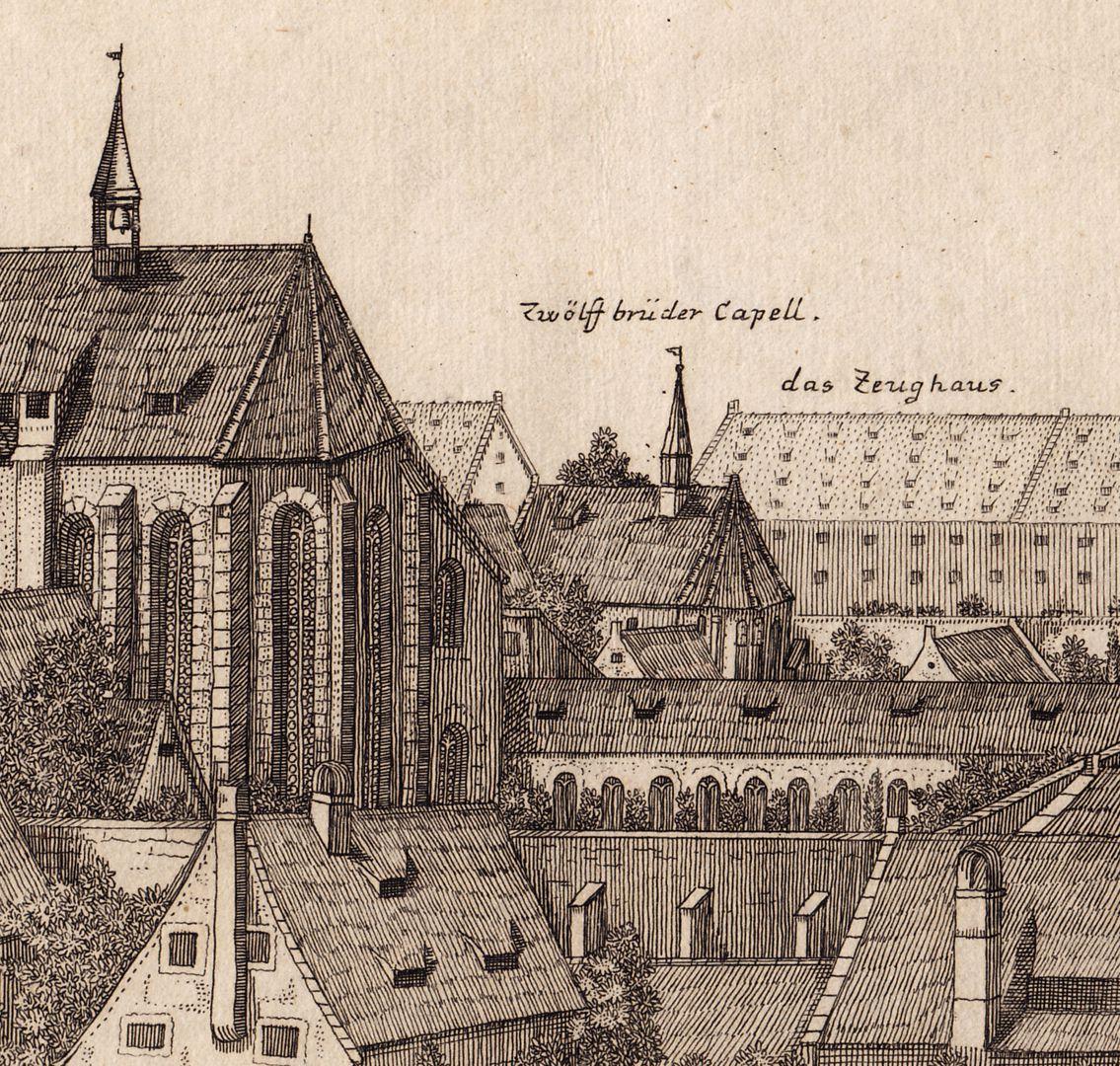 """Das Carthäuser Closter in Nürnberg"" Detail"