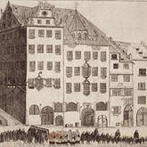 """""""Prospect vom Roßmarkt gegen die Barfüßerbrücken (...)"""""""