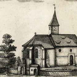 Die Kirchen in Rickerses-dorf.   bej  N: