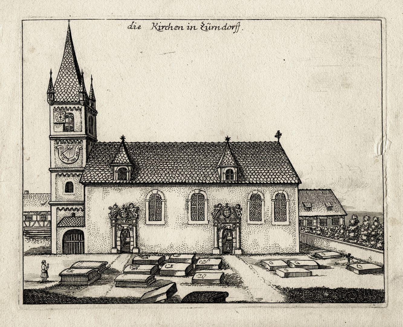 die Kirchen in Zürndorff Gesamtansicht