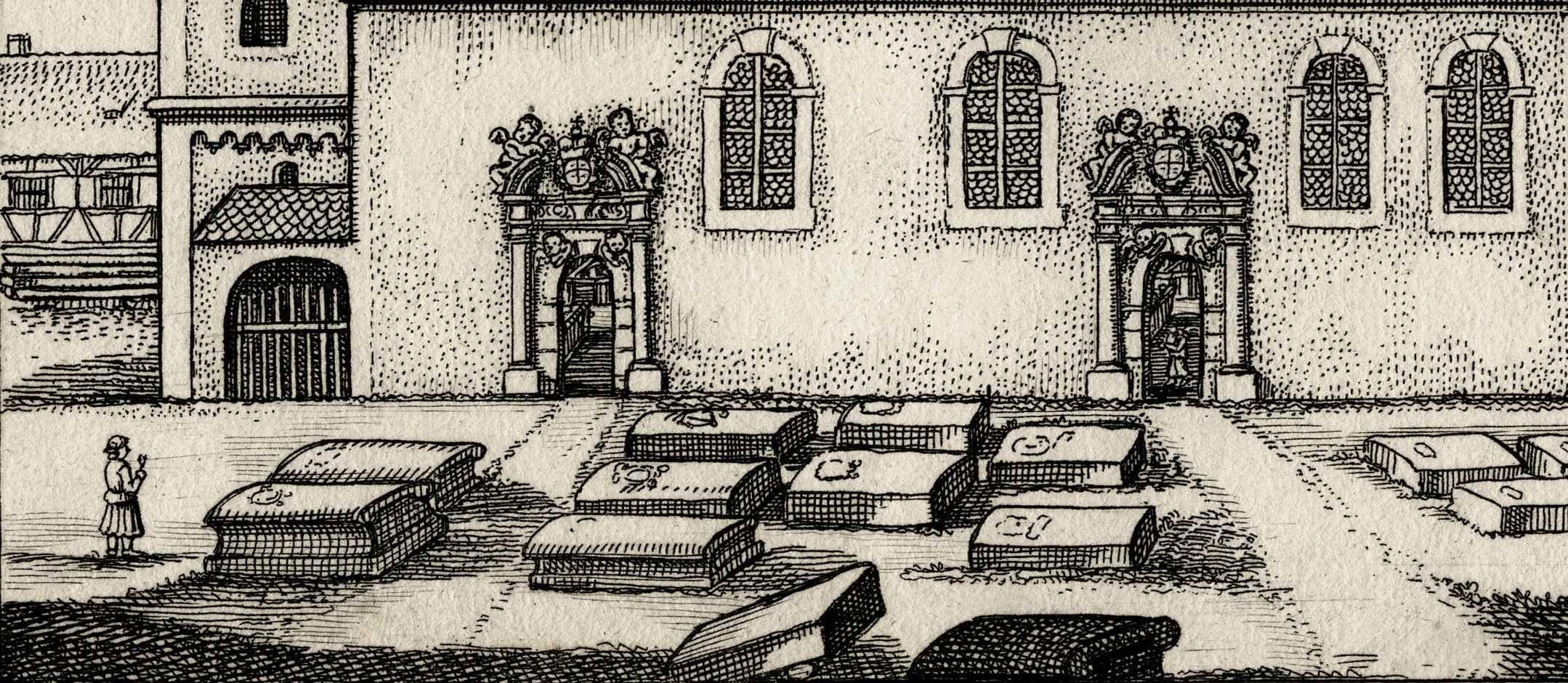 die Kirchen in Zürndorff Friedhof