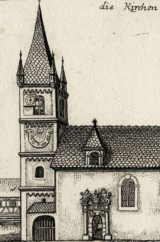 die Kirchen in Zürndorff Kirchturm