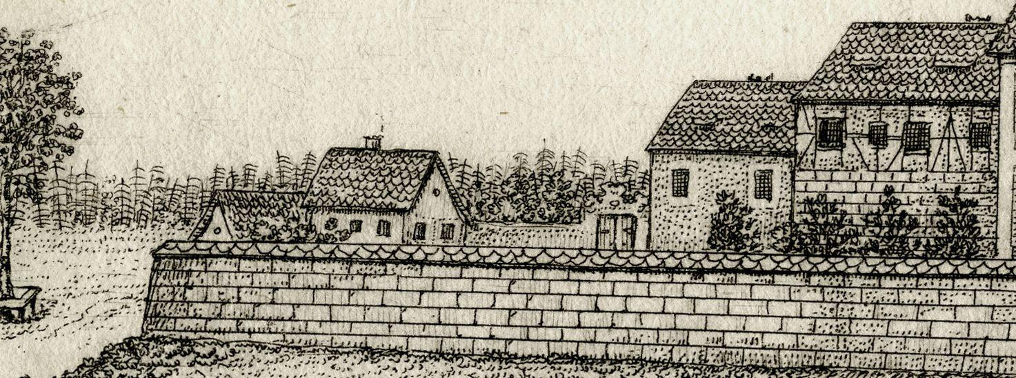 Marienburg, bej Klein Amberg.  3 meil von Nürnb. 1708 Marienburg, Garten