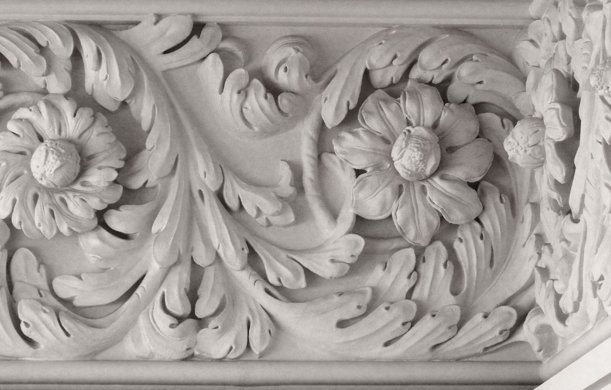 Brentano Saal Akanthusfries