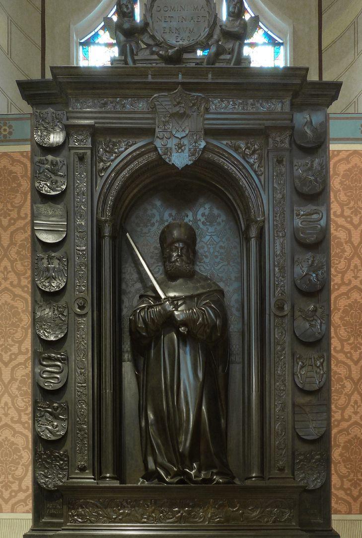 Grabmal Friedrichs des Weisen (Wittenberg) Gesamtansicht