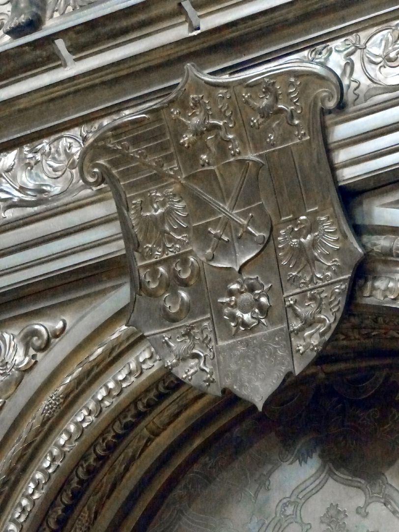 Grabmal Friedrichs des Weisen (Wittenberg) Wappen Friedrich des Weisen
