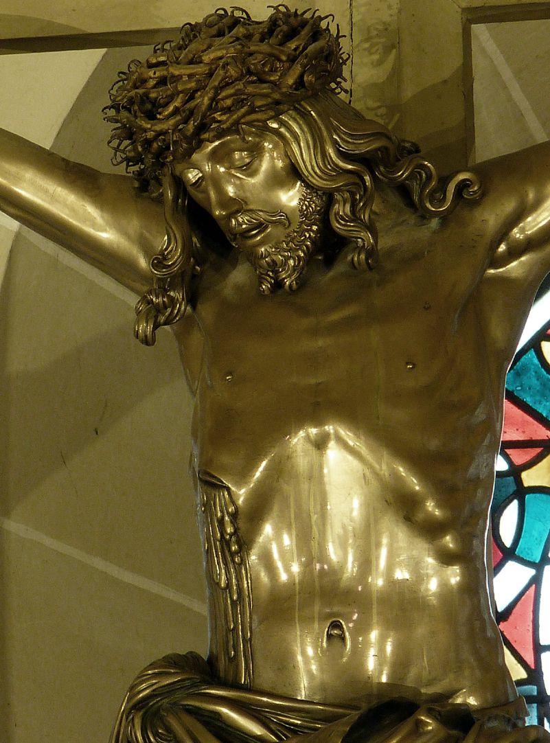 Kruzifix Oberkörper