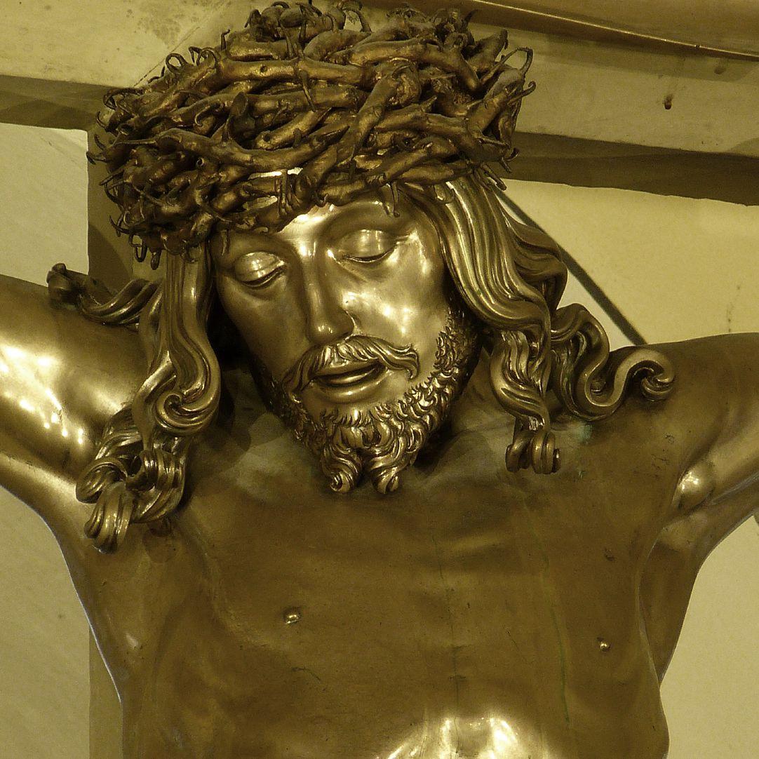 Kruzifix Kopf des Heilands