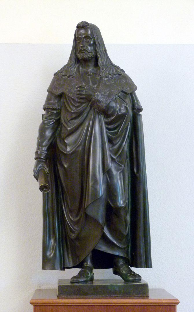 Statuette Albrecht Dürer Gesamtansicht