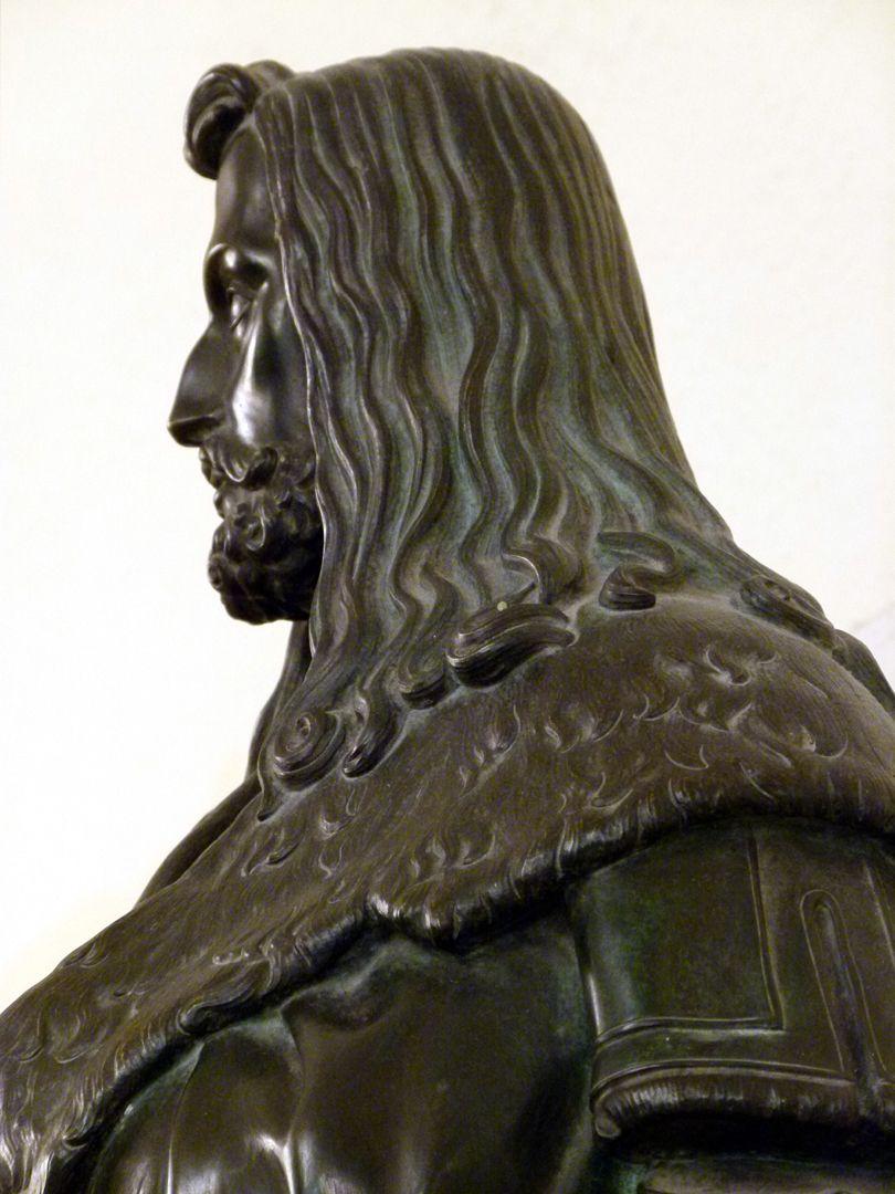 Statuette Albrecht Dürer Detail