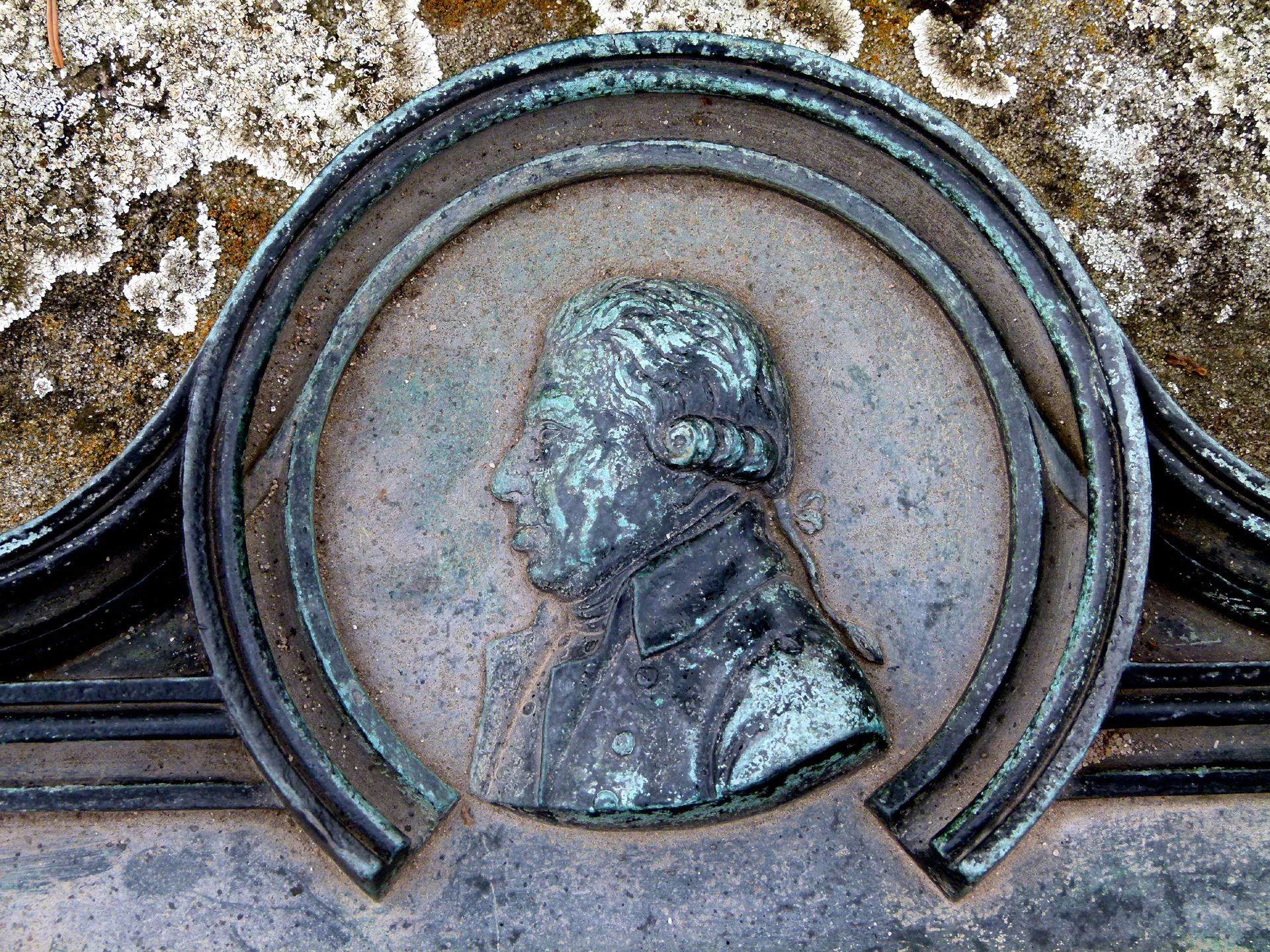Epitaph Johann Conrad Grübel Detail