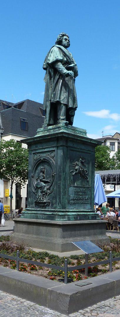 Beethoven-Denkmal (Bonn) Gesamtansicht