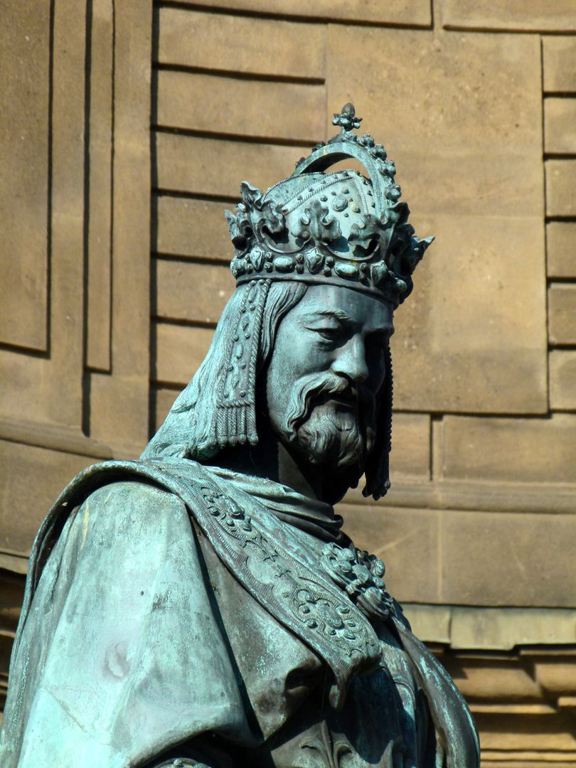 Denkmal Karl IV. (Prag) Kaiserportrait