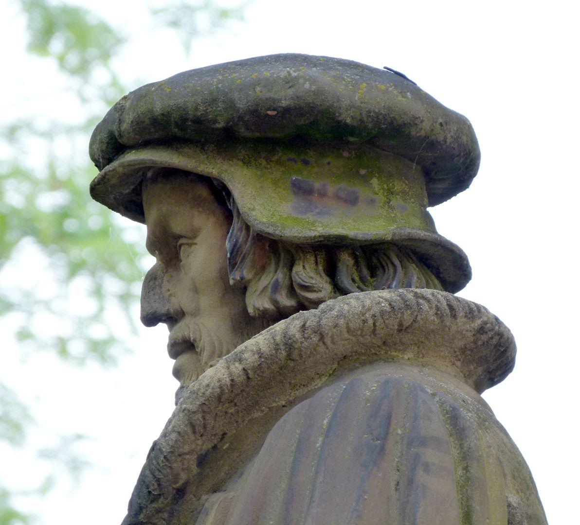 Philipp Melanchthon Denkmal Detail