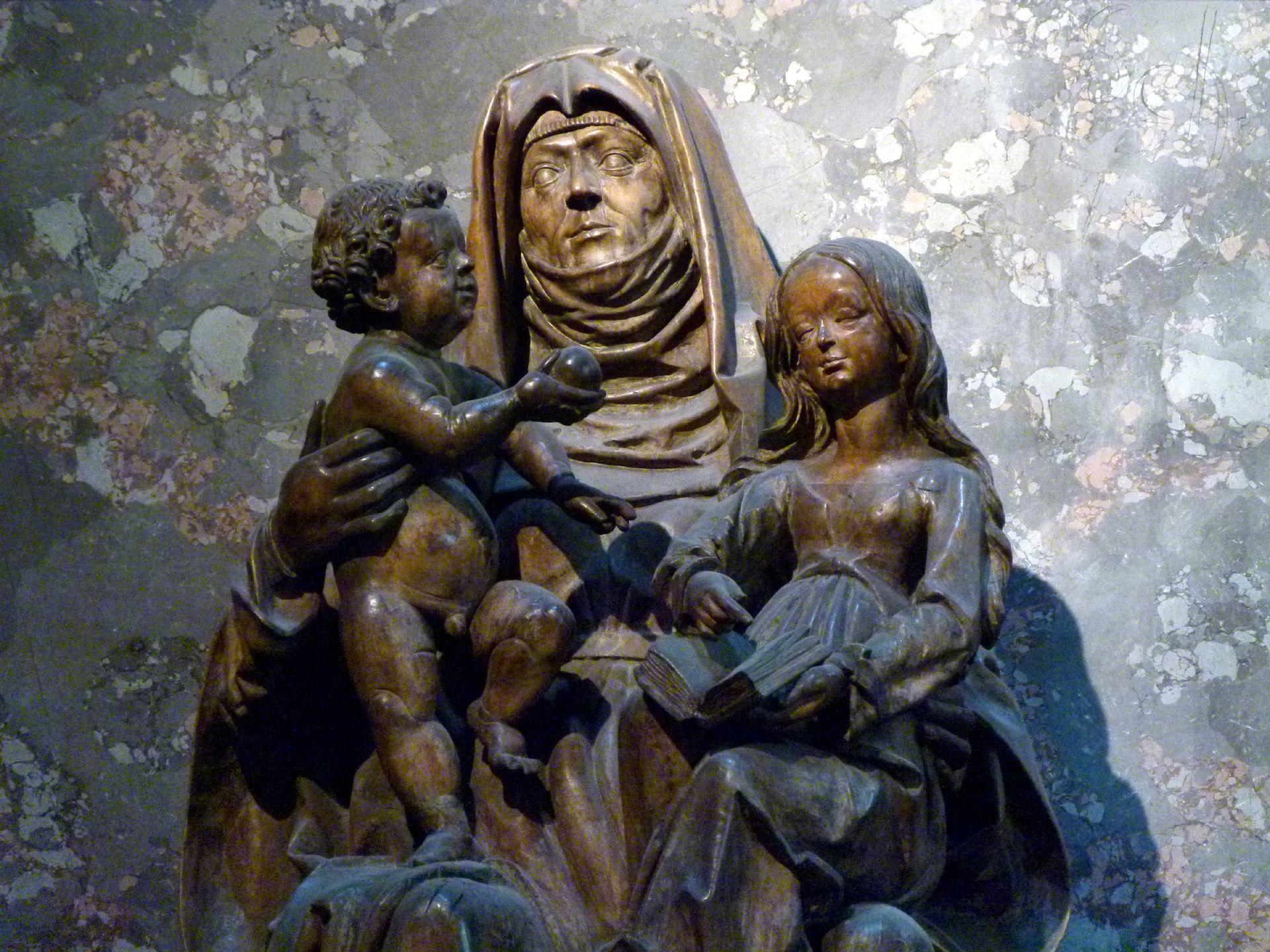 Anna-Selbdritt in St. Anna, Wien Jesuskind, Anna, Maria