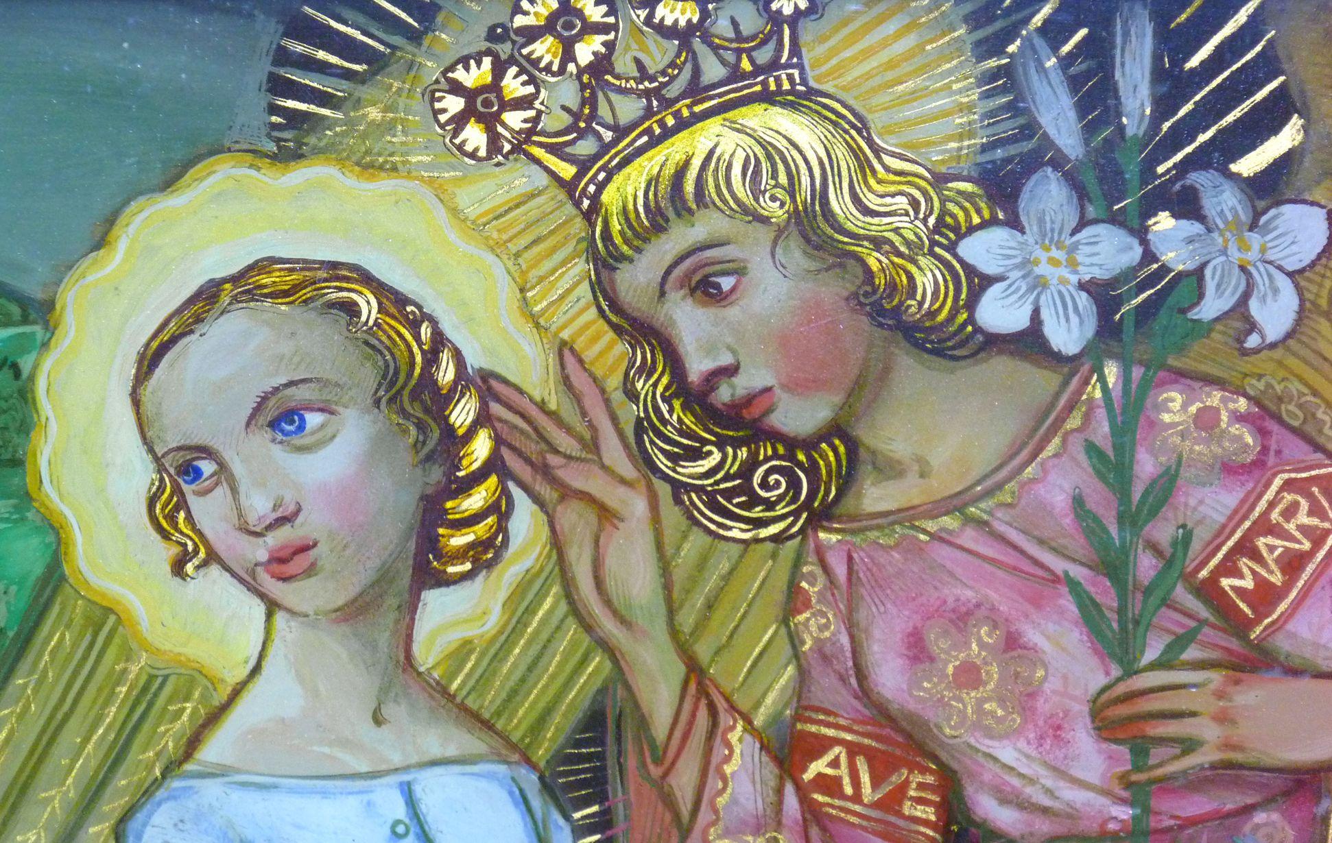 Verkündigung an Maria Die Verkündigung