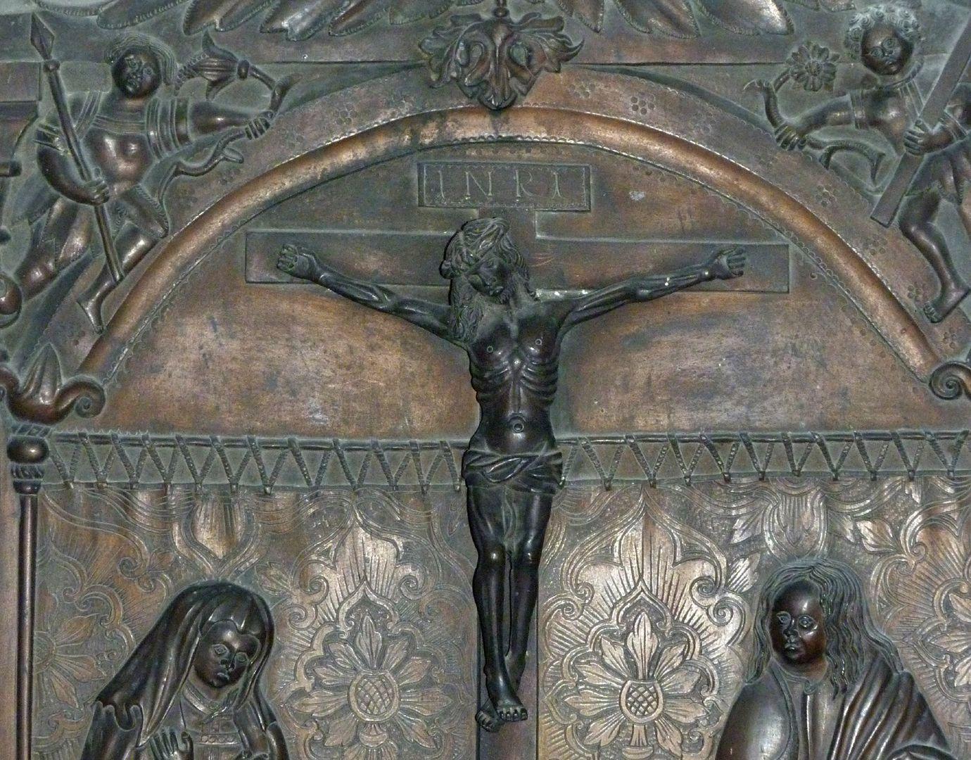 Christoph von Stadion Kreuzigungsszene, Detail
