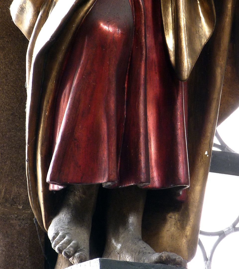 Christus Stand- und Spielbein