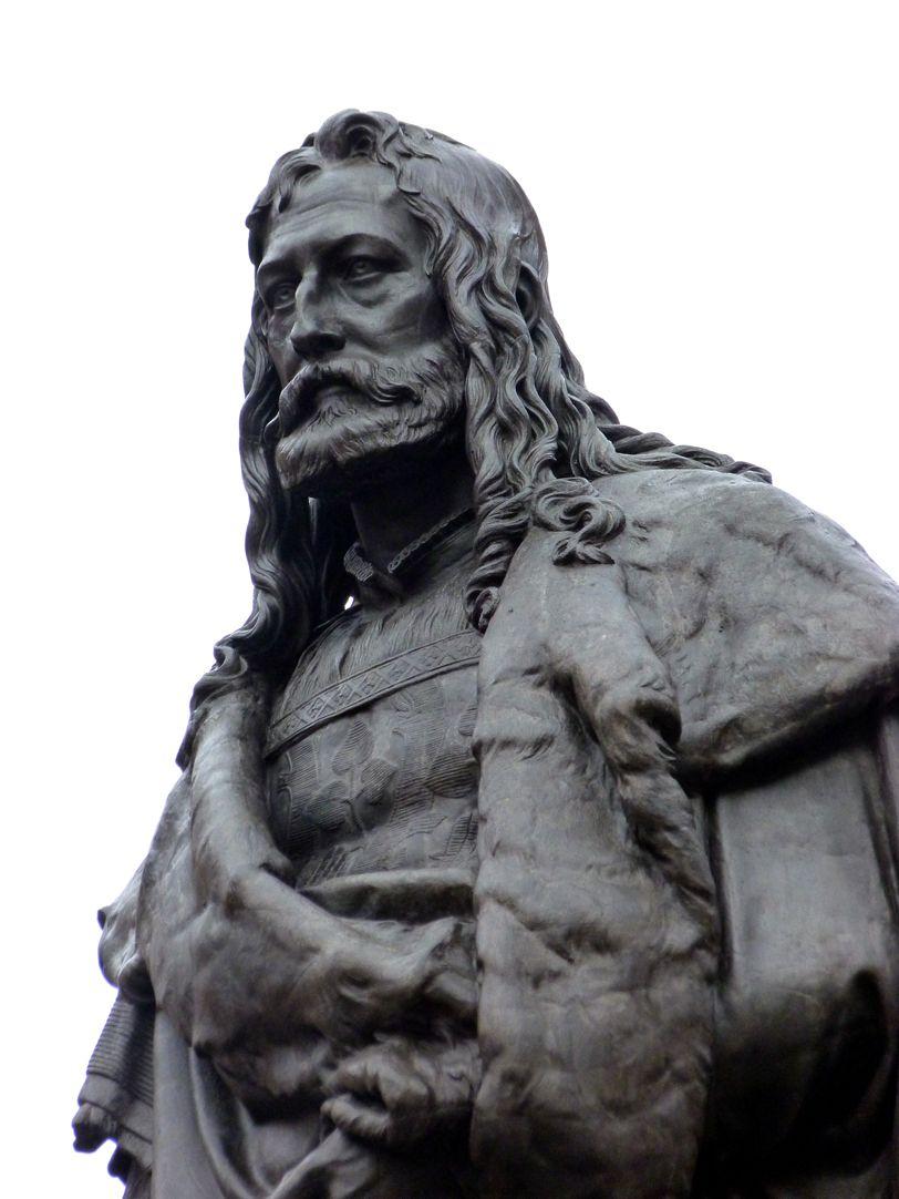 Albrecht-Dürer-Denkmal Detail Büste