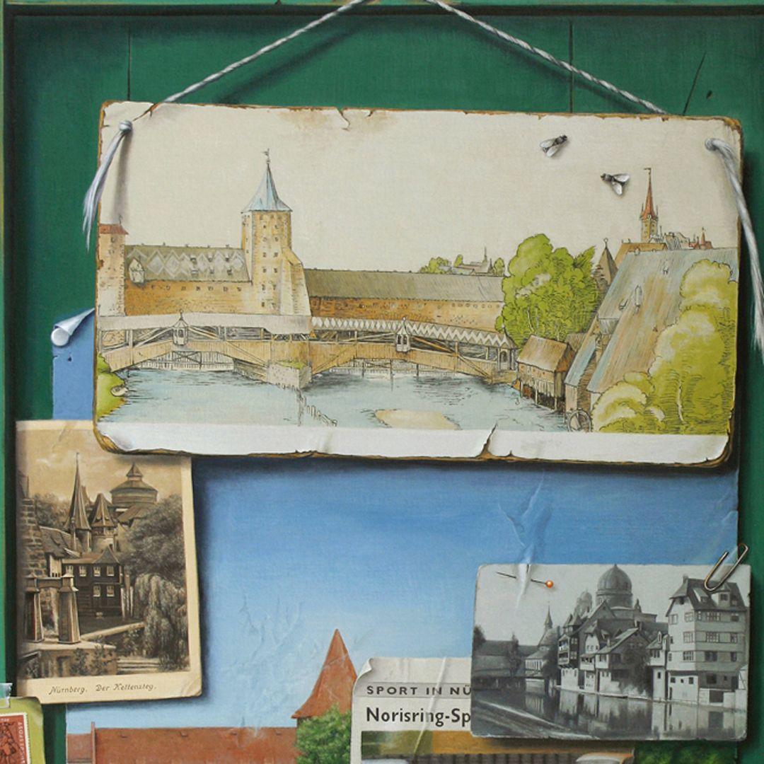 Dürers Nürnberg oberer Bildbereich