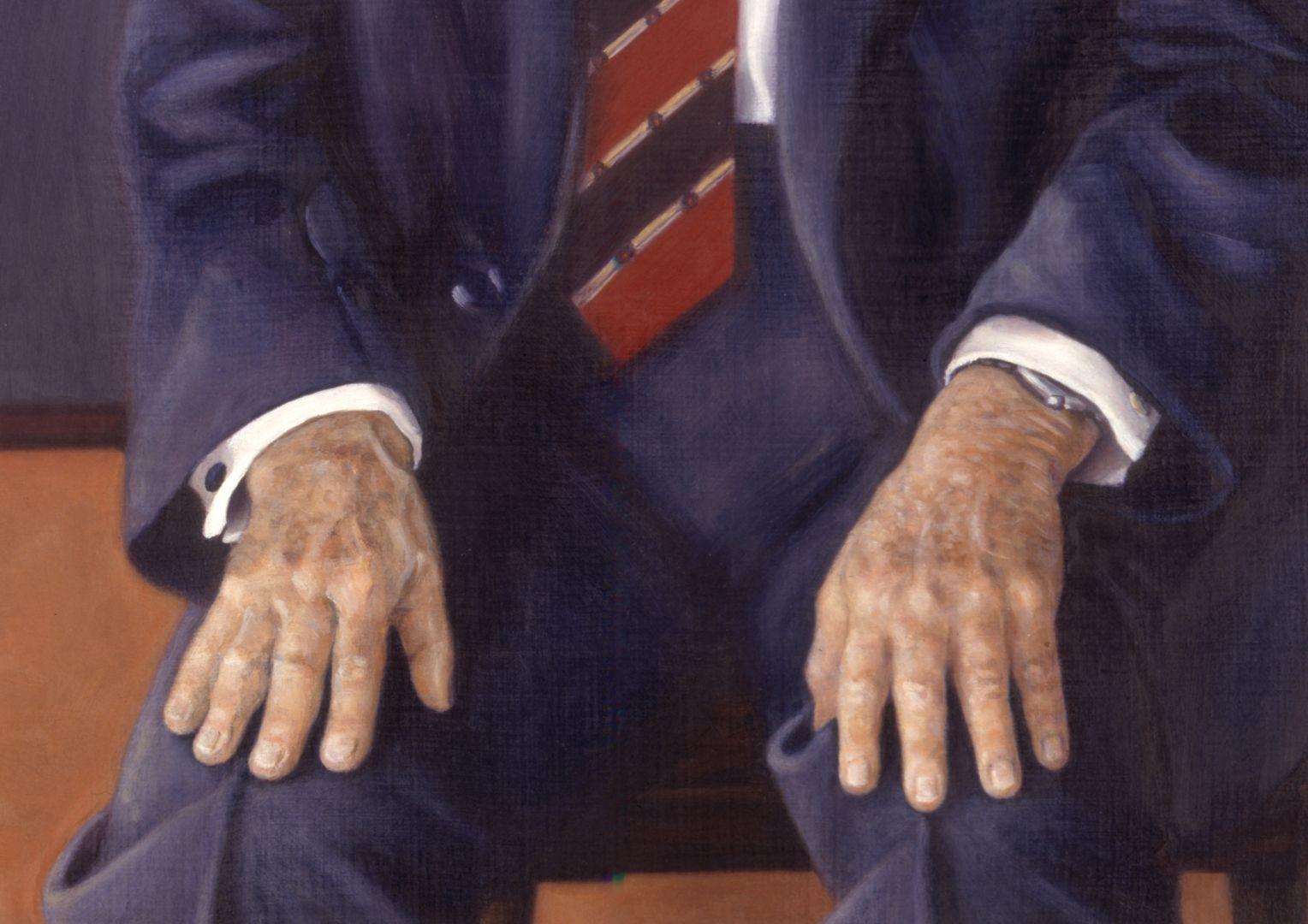 Andreas Urschlechter Detail mit Händen