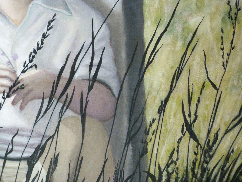 Poet Schramm Grashalme, Detail