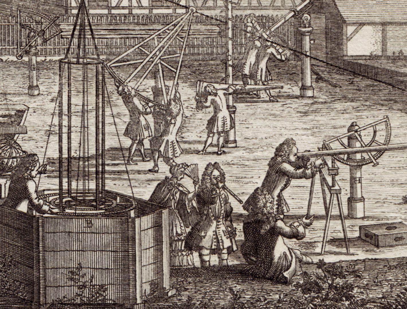 Nürnberg Prospecten Anderer = Theil Detail des Eimmart Observatoriums